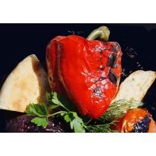 Перец болгарский на мангале