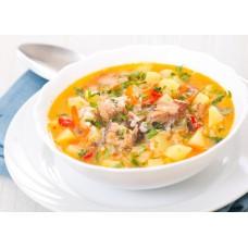 Суп Уха из красной рыбы
